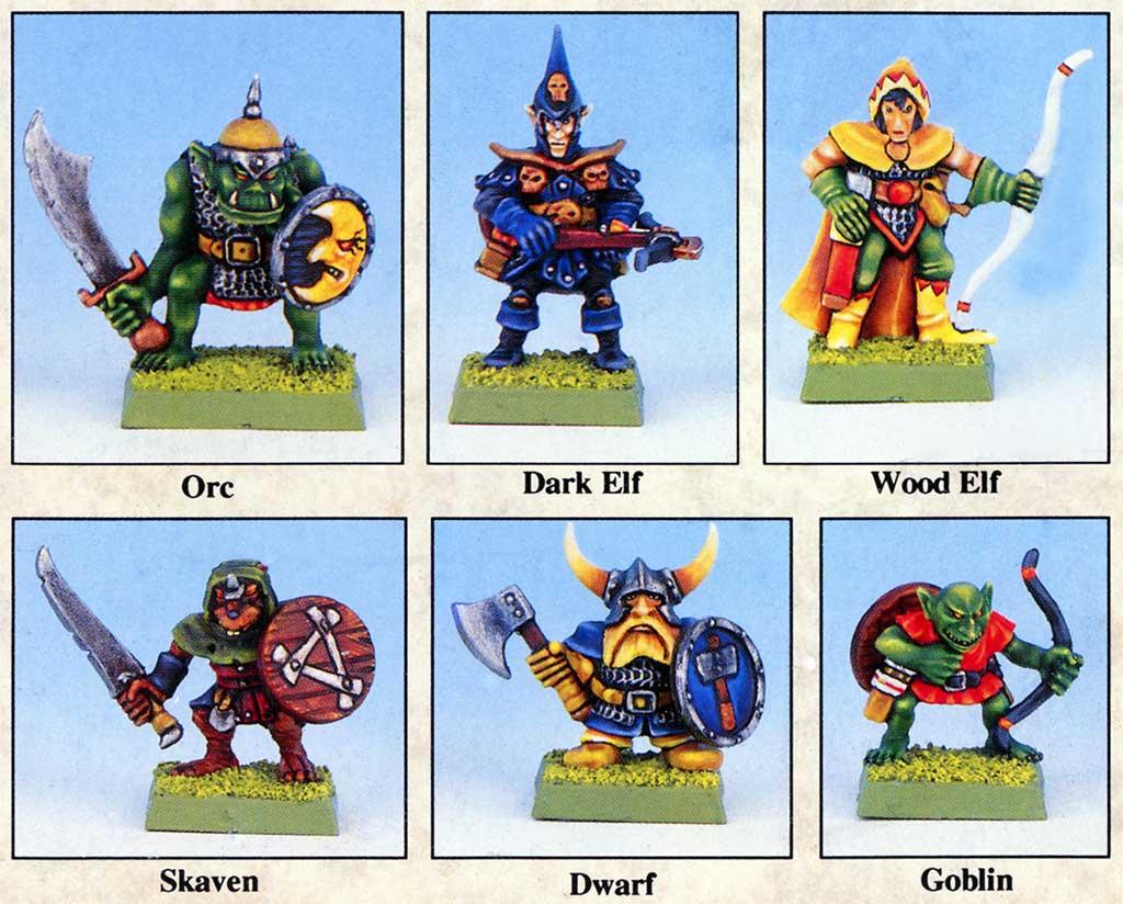 Fantasy regiments